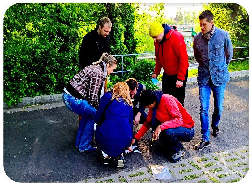 GPS-es ereklye keresés csapatépítés