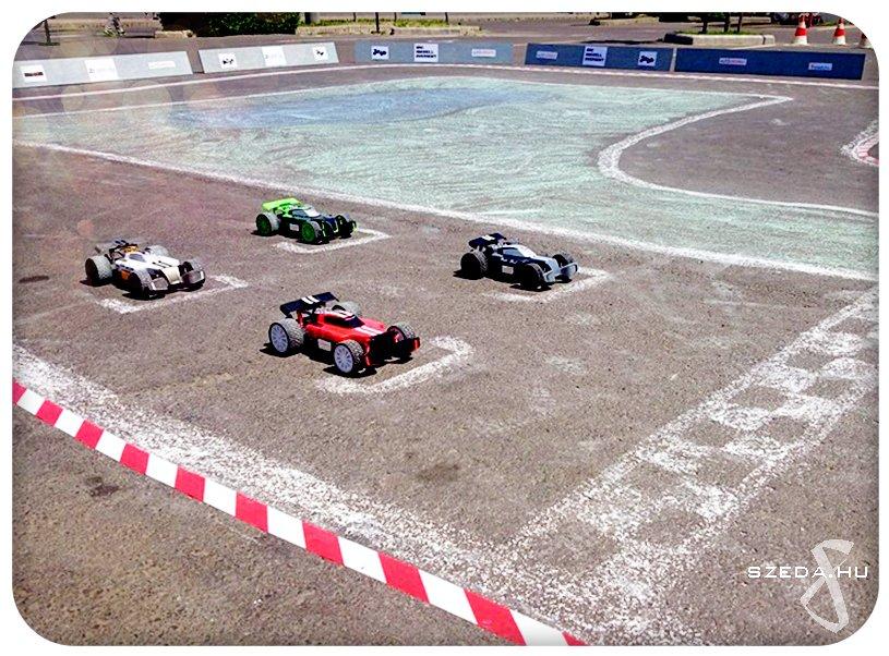 Autómodell verseny