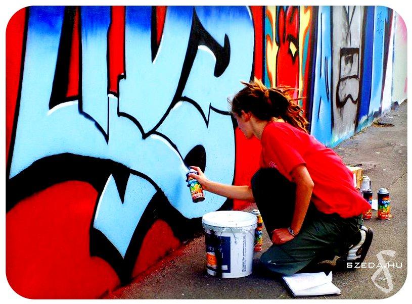 Graffiti csapatépítő program