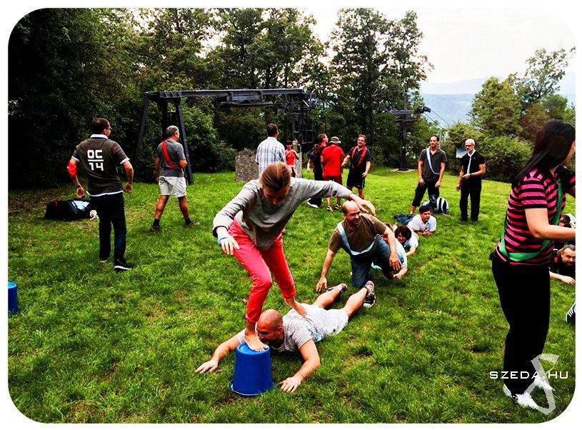 Játék határok nélkül! csapatépítő program