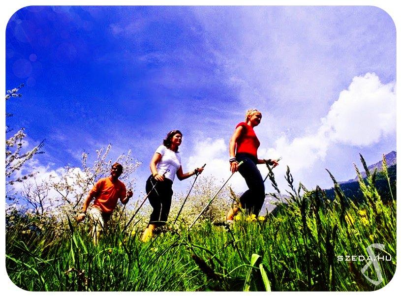 nordic walking túra