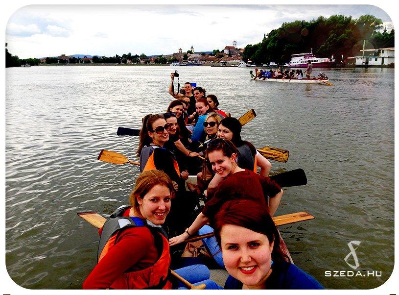 Sárkányhajó túra csapatépítő program