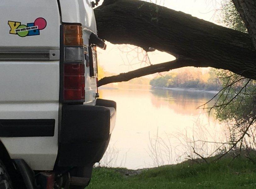 Subaru Libero Vanlife bérlés