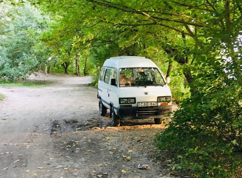Subaru Libero a Duna partján